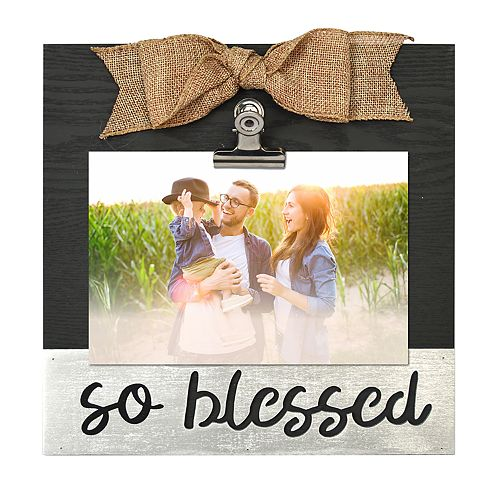 "New View ""So Blessed"" 1-Clip 4"" x 6"" Frame"