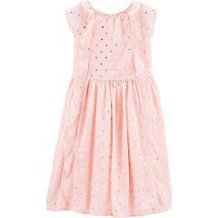 Girls 4-14 OshKosh B'gosh® Polka-Dot Waterfall Dress