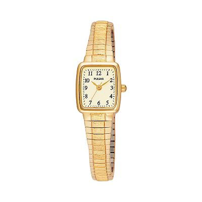 Pulsar Gold Tone Stainless Steel Expansion Watch - PPH520 - Women