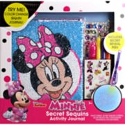 Disney's Minnie Mouse Secret Sequins Activity Journal