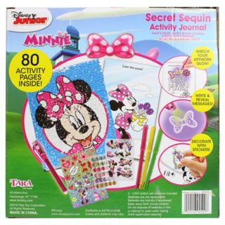 Disney's Minnie Mouse Secret Sequins Activity Journal