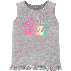 Girls 4-14 Carter's 'Stay In Bed' Tank Top