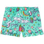 Girls 4-14 Carter's Ruffled Pajama Shorts