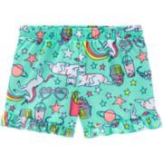 Girls 4-14 Carter's Ruffled Pajama Shorts