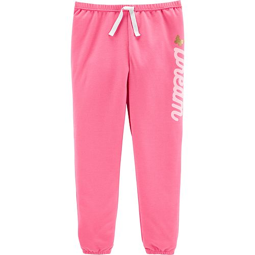 Girls 4-14 Carter's Dream French Terry Pajama Pants