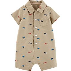 Baby Boy Carter's Dinosaur Romper