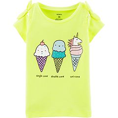 Toddler Girl Carter's Ice Cream Graphic Tee