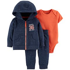 Baby Boy Carter's 'Daddy's All-Star' Hoodie, Bodysuit & Pants Set
