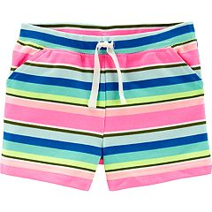 Toddler Girl Carter's Striped Knit Shorts