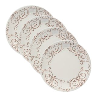 Certified International Terra Nova 4-piece Dinner Plate Set
