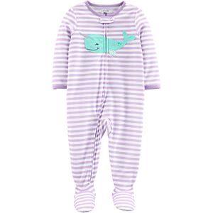 3f8e52af98d2 Toddler Girl Carter s Butterfly Footed Pajamas