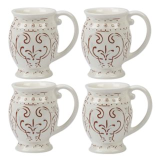 Certified International Terra Nova 4-piece Mug Set