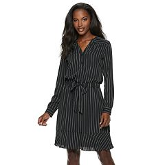 Women's Jennifer Lopez Chiffon Midi Shirtdress