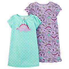 Girls 4-14 Carter's 2-pack Dorm Nightgowns