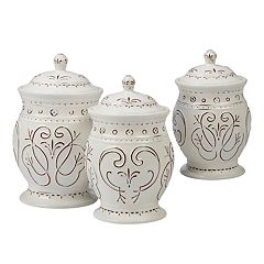 Certified International Terra Nova 3-piece Canister Set