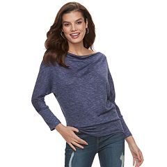 Women's Jennifer Lopez Cowlneck Top