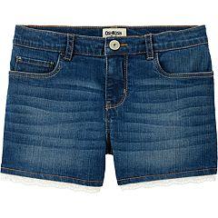 Girls 4-14 OshKosh B'gosh® Eyelet-Trim Denim Shorts