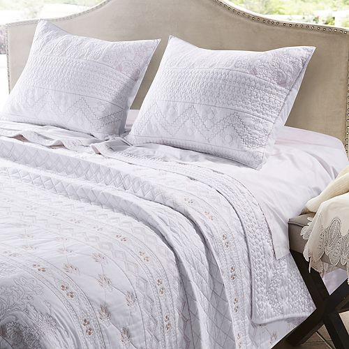 Greenland Home Fashions Milano Quilt Set