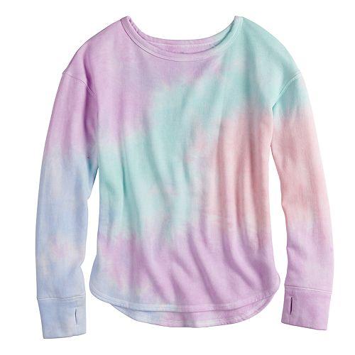 Girls 7-16 & Plus Size SO® Fleece Crew Pullover