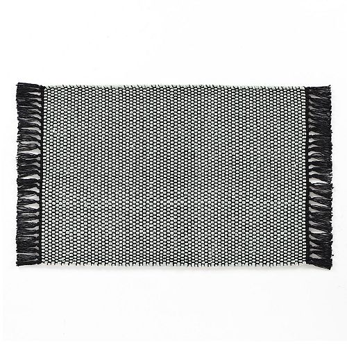 VCNY Home Flatwoven Reversible Solid Rug