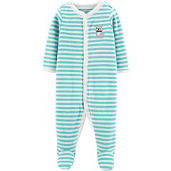 Baby Boy Carter's Terry Striped Sleep & Play