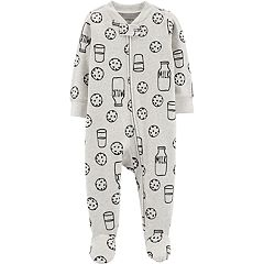 Baby Carter's Milk & Cookies Zipper Sleep & Play