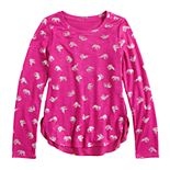 Girls 7-16 & Plus Size Mudd® Cozy Tulip Hem Top
