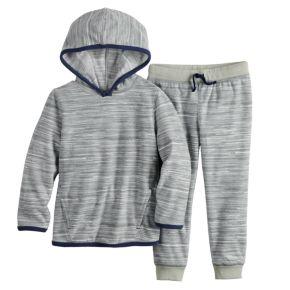 Baby Boy Jumping Beans® Microfleece Pullover Hoodie & Pants Set