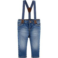 Baby Boy OshKosh B'gosh® Denim Suspender Jeans