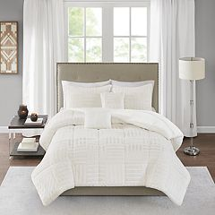 Madison Park Polar Faux Fur 5-piece Comforter Set