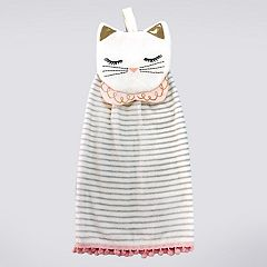 LC Lauren Conrad Tie-Top Kitten Kitchen Towel