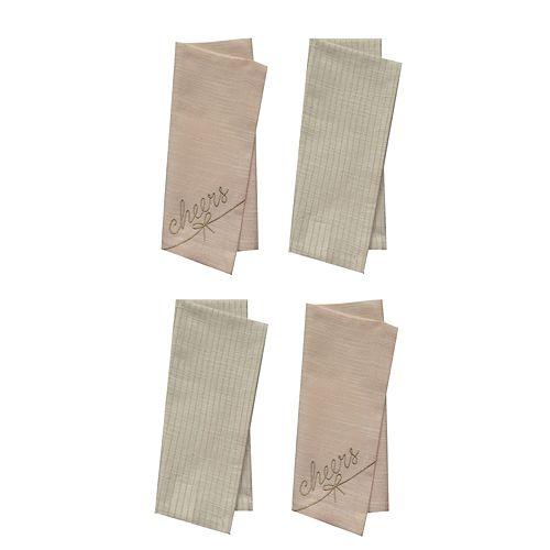 LC Lauren Conrad Cheers & Yum Napkin 4-Pack
