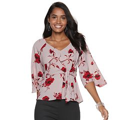 Women's Jennifer Lopez Knot-Front Top