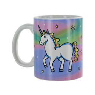 Unicorn Dress-Up Ceramic Mug