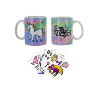 Unicorn Dress-Up Ceramic Mug