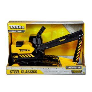 Tonka Steel Classics Excavator Vehicle