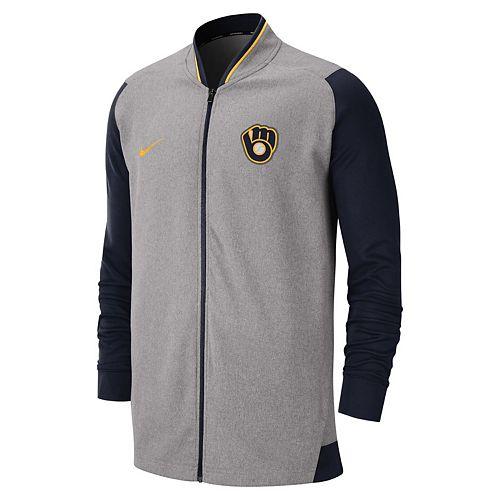 Men's Nike Milwaukee Brewers Dri-FIT Jacket