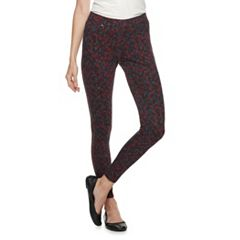 Women's Utopia by HUE Wallpaper Thistle Printed Leggings