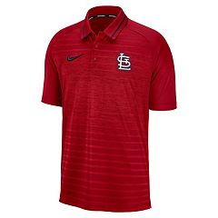 Men's Nike St. Louis Cardinals Dri-FIT Stripe Polo