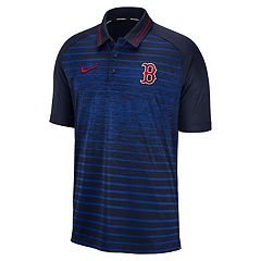 fd5c12b73a3 Men s Nike Boston Red Sox Dri-FIT Stripe Polo. Rsx Navy
