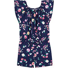 Girls 4-12 OshKosh B'gosh® Floral-Print Romper