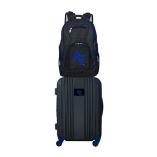 Air Force Falcons Wheeled Carry-On Luggage & Backpack Set