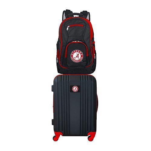 Alabama Crimson Tide Wheeled Carry-On Luggage & Backpack Set