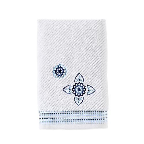 Saturday Knight, Ltd. Kali Embroidered Hand Towel
