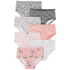 Girls 4-14 Carter's 7-pack Brief Panties