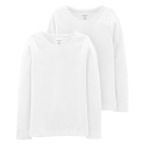 Girls 4-14 Carter's 2-pack Long Sleeve Tees