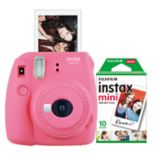 FujiFilm Instax Mini 9 Bundle with 10 Exposure Film