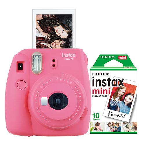FujiFilm Instax Mini 9 Bundle with 10 Exposure Film