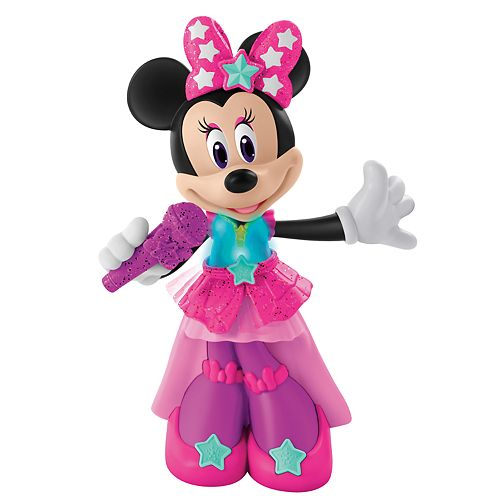 a5ee7a1e07862 Disney's Minnie Mouse Pop Superstar Minnie by Fisher-Price