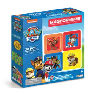 Magformers Paw Patrol 20-piece Ready for Action Construction Set